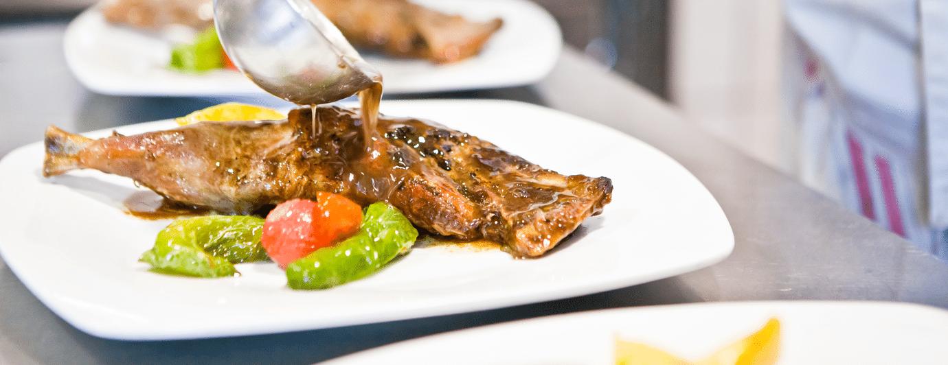 restaurante Flati en Loja, platos especializados en productos de Poniente de Granada