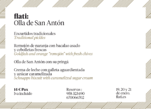 Olla de San Antón en Loja Restaurante Flati
