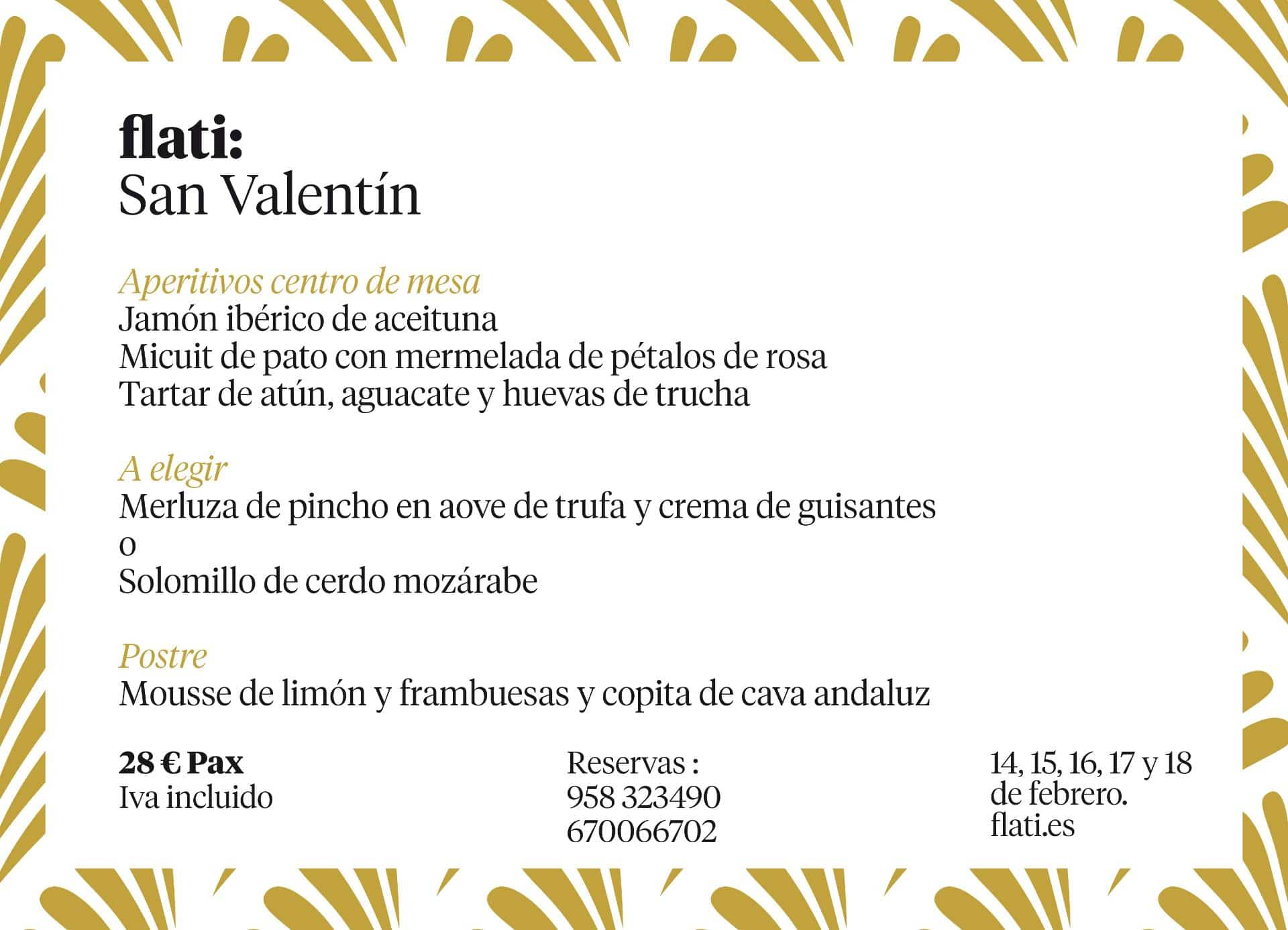 Cena para San Valentín en Loja