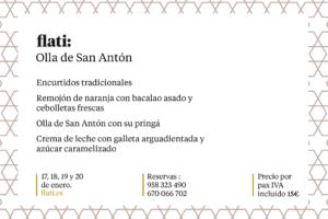 Olla San Antón 2019 en Restaurante Flati Loja