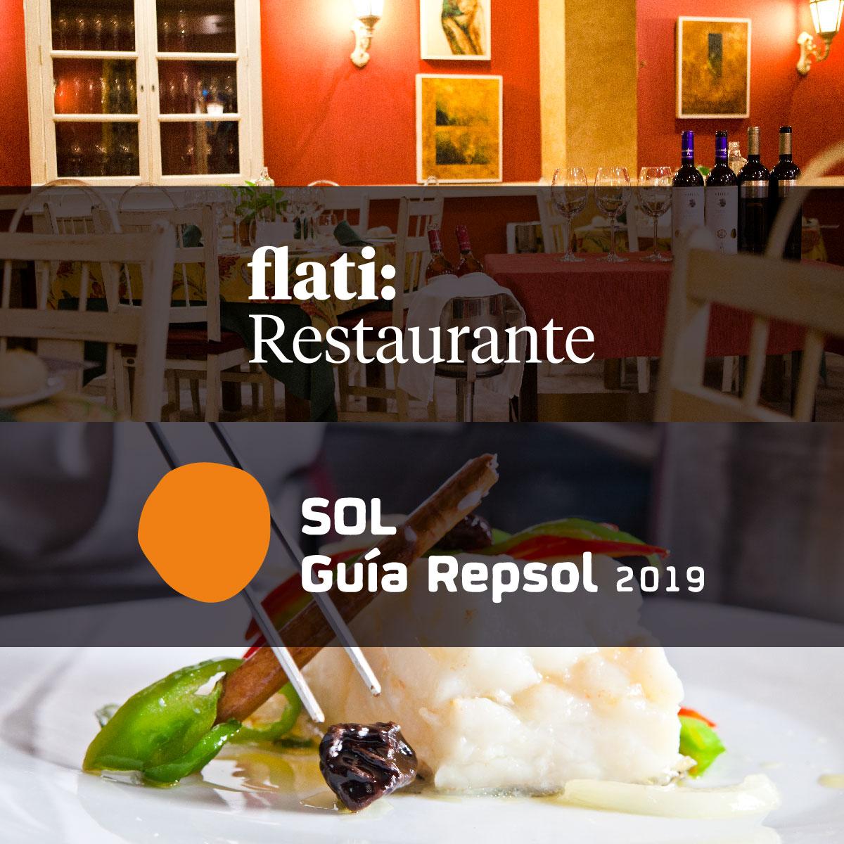 Nuevo Sol de la Guía Repsol 2019 - Noticias de Flati